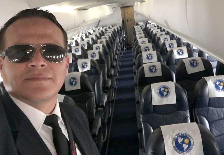 Miguel Quiroga (foto) brindó información falsa para poder acreditarse oficialmente como piloto.(Archivo/SIPSE)