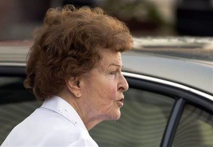 """Shirley Breyer, esposa de Johann """"Hans"""" Breyer, durante una entrevista en el 2012. (Agencias)"""
