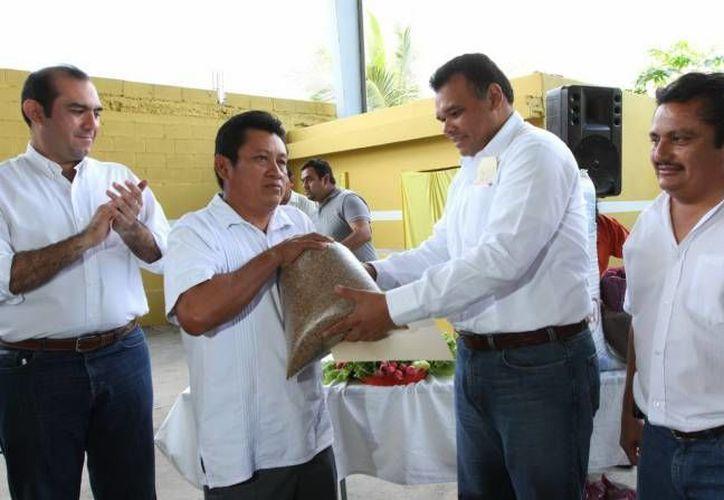 Este viernes, el Gobernador del Estado entregará maíz para autoconsumo a productores afectados por contingencia climatológica. (Imagen de contexto/ SIPSE)