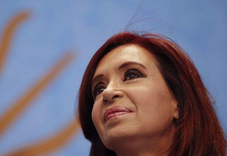 """Cristina Fernández aclaró que no considera al Reino Unido como un """"enemigo"""". (Agencias)"""