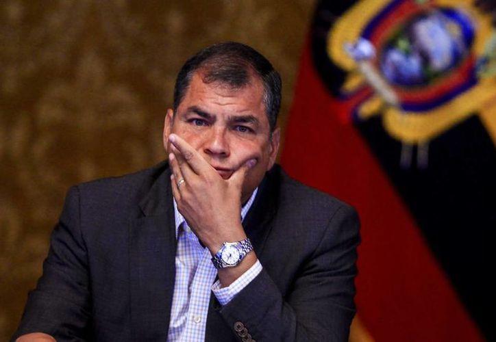 Correa fue vinculado por Camacho a la investigación del secuestro de Balda el pasado 18 de junio. (Internet)
