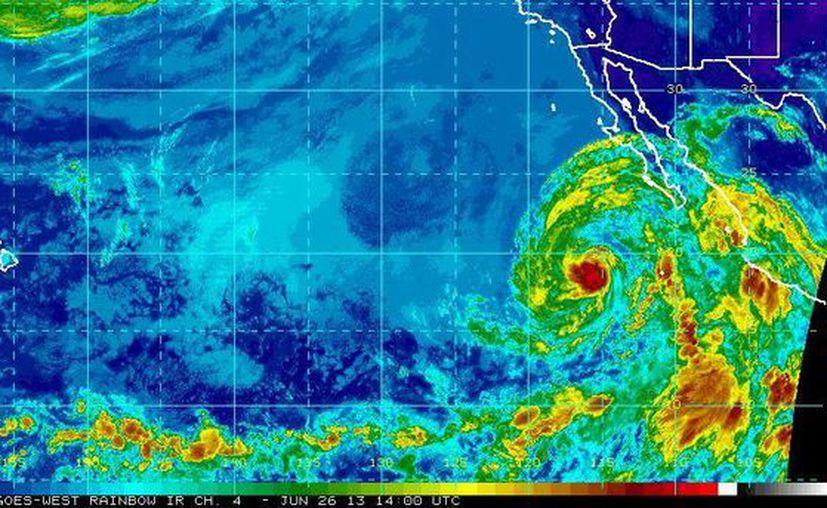 El huracán Cosme ha afectado sobre todo la zona costera de Guerrero y Baja California. (ssd.noaa.gov/Archivo)