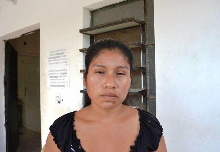 Lila López exige que los delincuentes paguen los gastos del hospital. (Redacción/SIPSE)