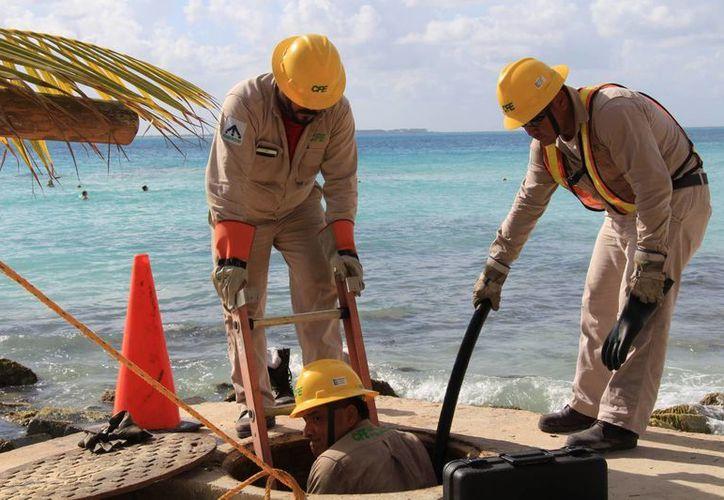 Para los trabajos participaron más de 100 empleados de la paraestatal. (Luis Soto/SIPSE)
