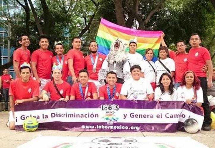 Lobos México ya no solo es fútbol, también es un club cultural y recreativo en pro de la diversidad sexual. (verne.elpais.com/cortesía de Lobos México)
