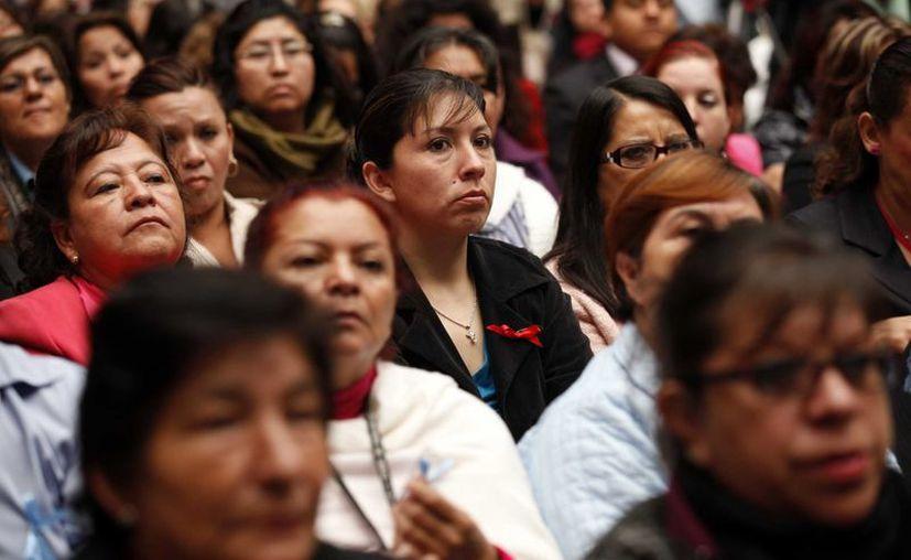 Mujeres casadas o en unión libre, de las más excluidas en el sector laboral. (Archivo/Notimex)