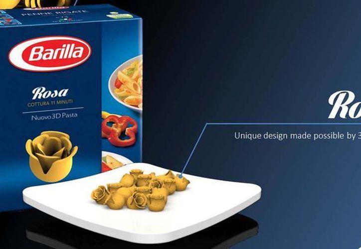 La gran novedad que permite la invención es la de poder contar con formatos de pasta únicos. (3dprint.com)