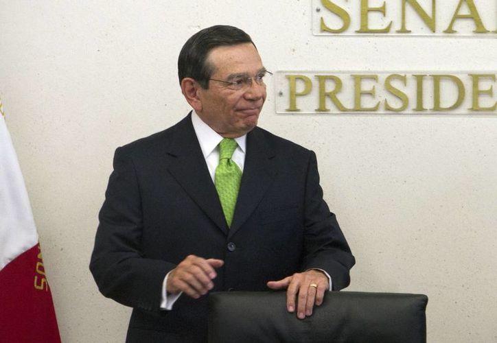 Hurtado Valdez se desempeñaba como contralor de la Segob y anteriormente fue alcalde y gobernador de Campeche. (Notimex)