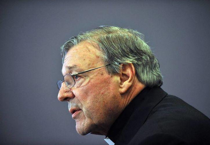 El responsable de Economía del Vaticano, el cardenal australiano George Pell. (Archivo/EFE)