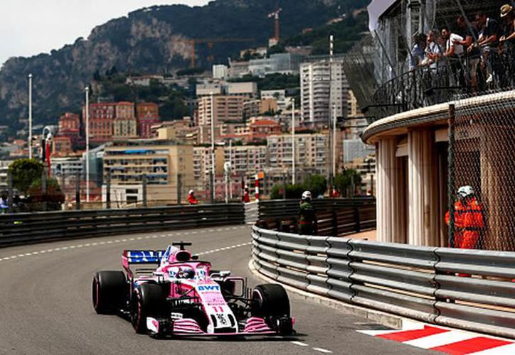 Avanza Checo Pérez para el Gran Premio de Mónaco. (Foto: Medio Tiempo)