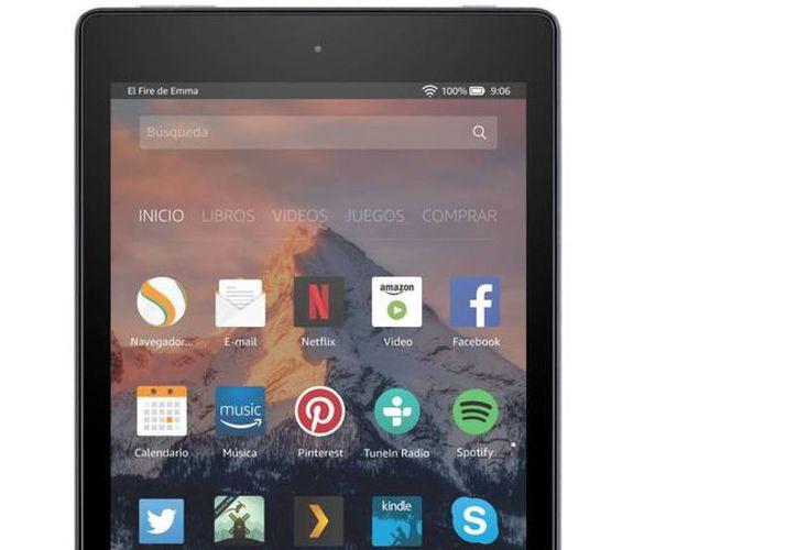 La principal característica de las tabletas Fire HD es la presencia del sistema operativo Fire OS, basado en Android. (Foto: Amazon)