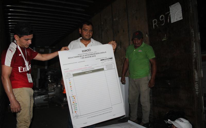 Los resultados de la elección estarán a disposición de los quintanarroenses, una vez que se haya realizado el conteo rápido. (Joel Zamora/SIPSE)