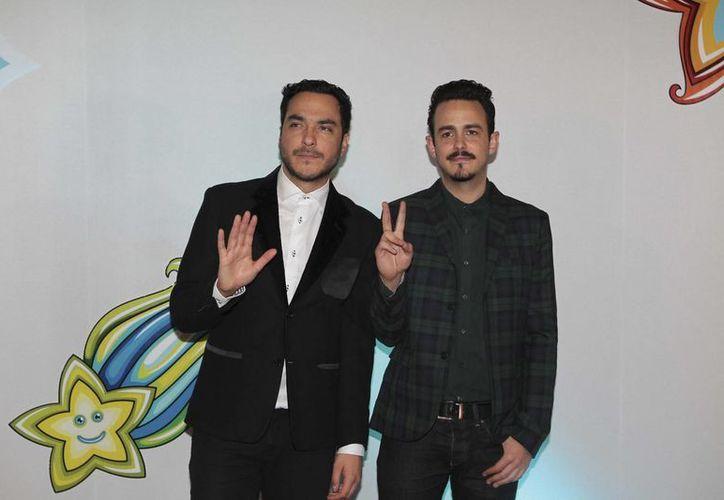 """Guillermo """"Billy"""" Méndez (i) y Rodrigo Dávila Chapoy piden apoyo a sus fans a través de las redes sociales. (Archivo Notimex)"""
