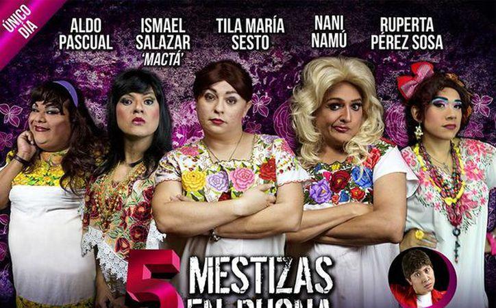 Los actores presentarán la comedia por primera vez en esta ciudad. (Faride Cetina/SIPSE)