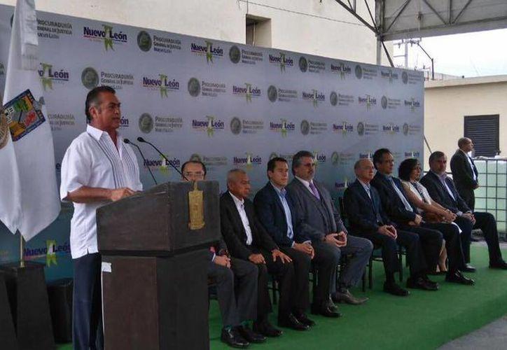 Jaime Rodríguez, 'El Bronco', levantó polémica por sus declaraciones sobre la obesidad en un evento oficial. (Facebook/Jaime Rodríguez Calderón)