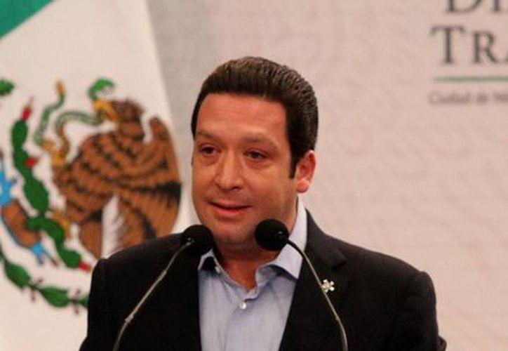El presidente de la Confederación de Cámaras Industriales (Concamin), Francisco Funtanet. (Archivo Notimex)