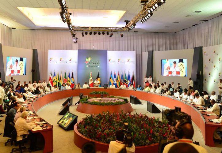 Representantes de 31 países del Caribe se reunieron desde el lunes en la entidad para las cumbres. (Milenio Novedades)
