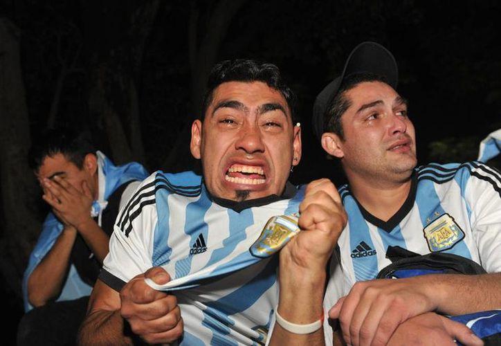 El Mundial fue un motivo de unidad para los argentinos y un paliativo en medio de los problemas económicos del país. (EFE)