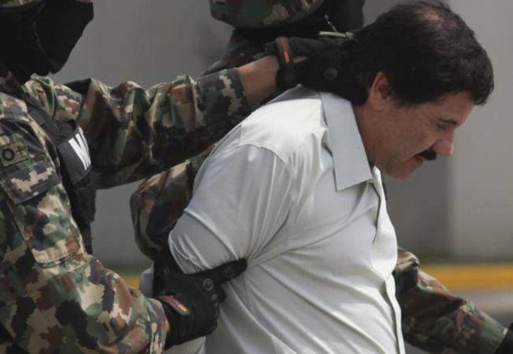 Este jueves se anunció el traslado de Joaquín Guzmán Loera hacia Estados Unidos. (Archivo/ Agencias)