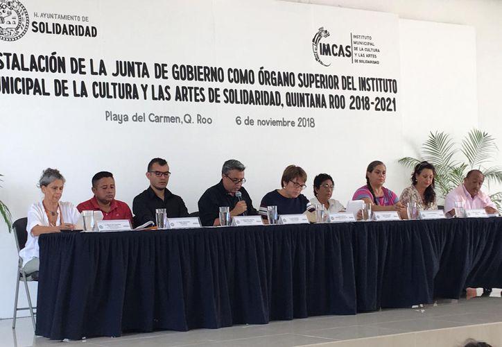 Se realizó ayer la instalación de la junta de gobierno del Imcas. (Adrián Barreto/SIPSE)