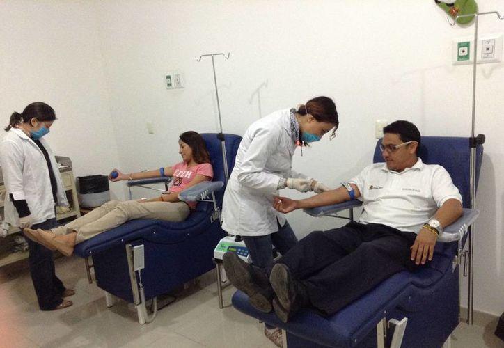 Playa del Carmen se encuentra por encima de la media nacional en cuanto a cultura de donación de sangre altruista.  (Yesenia Barradas/SIPSE)