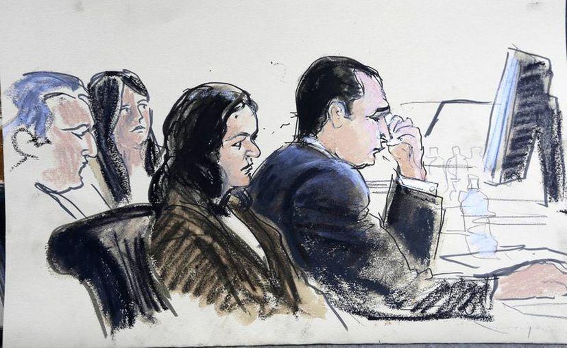 Bosquejo del juicio de Gilberto Valle. (Agencias)