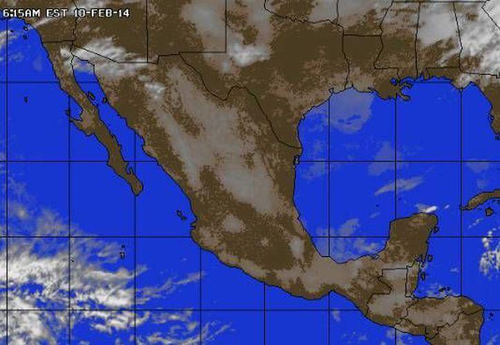 Continuará la entrada de aire marítimo tropical con poco contenido de humedad proveniente del Golfo de México y el mar Caribe. (accuweather.com)
