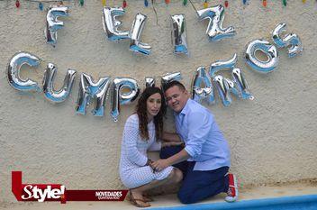 Karina y Marco festejaron un año más de vida