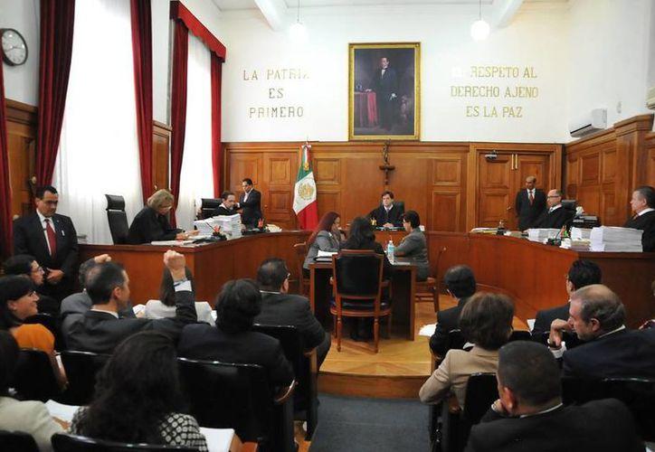 La Suprema Corte de Justicia de la Nación 'avaló' los insultos a la autoridad; resolvió dos amparos para dos mujeres que estaban sentenciadas por el delito de 'ultraje a la autoridad'. (Archivo/NTX)
