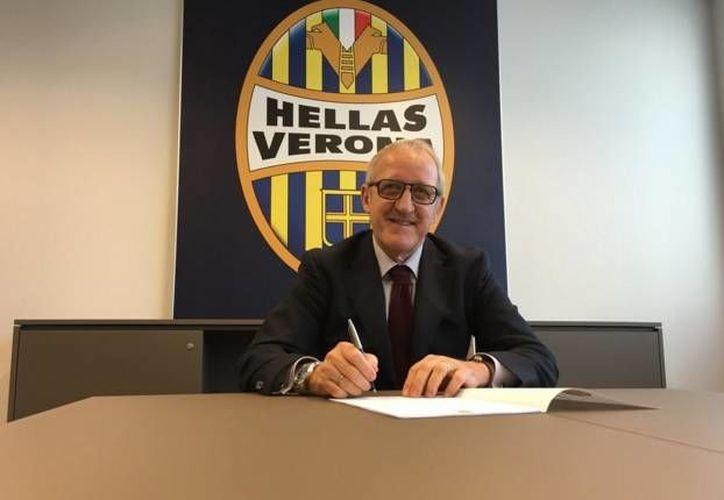 Luigi Delneri es el nuevo entrenador del Hellas Verona. El entrandor italiano ha dirigido a equipos como el Porto, Roma, Palermo y Juventus, entre otros. (Twitter: HellasVeronaFC)