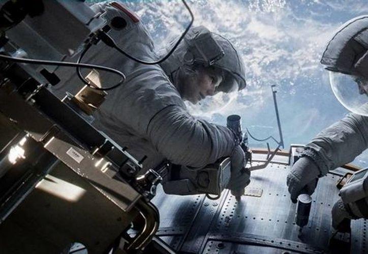La cinta 'Gravity' fue nominada a mejor película de 2013 por la academia del Oscar. (Internet)