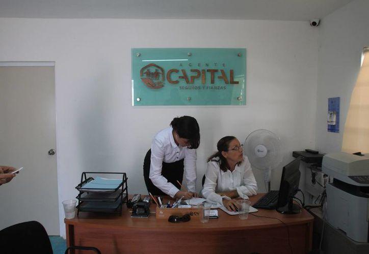 La empresa Agente Capital, inauguró su primera sucursal a nivel peninsular en la capital del estado. (Enrique Mena/SIPSE)