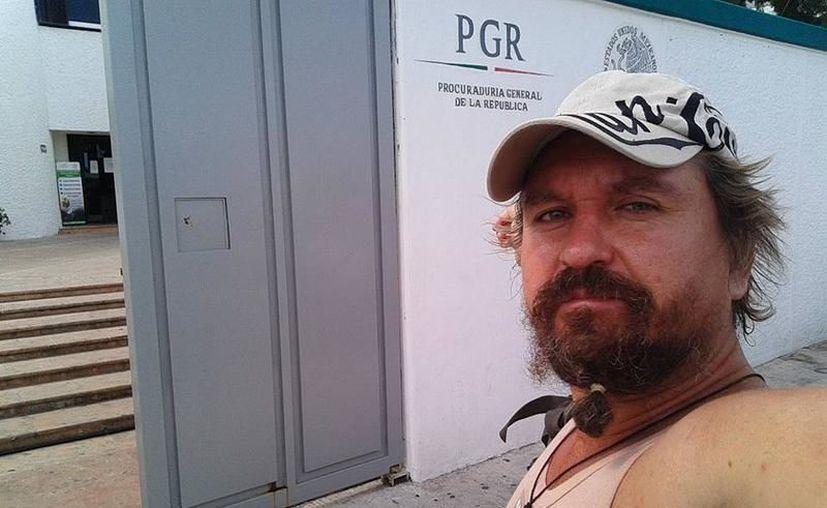 """Aleksei Makeev, conocido como """"#LordNaziRuso"""" fue sentenciado por homicidio. (Redacción/SIPSE)"""