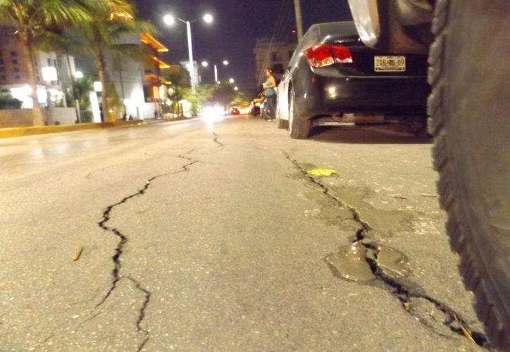 La desarrolladora Chichito S.A. de C.V. deberá pagar la reparación de la calle dañada por las obras que realiza. (Daniel Pacheco/SIPSE)