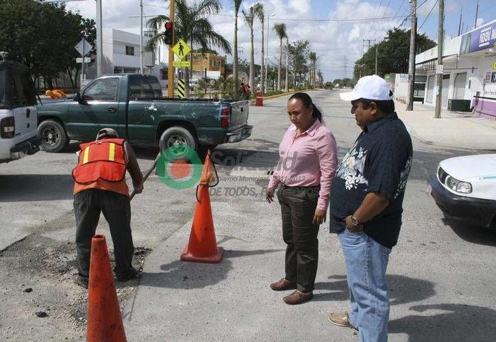 Piden a la ciudadanía tener precaución por la aplican las obras. (Redacción/SIPSE)