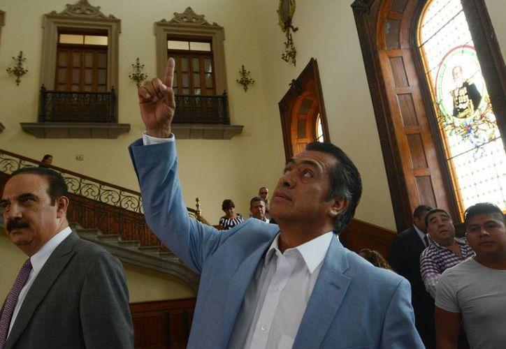 'El Bronco' no descarta presentarse como candidato a la Presidencia de la República en 2018, pero ello dependerá del resultado del referéndum que realizará al tercer año de su gestión. (Archivo/Notimex)