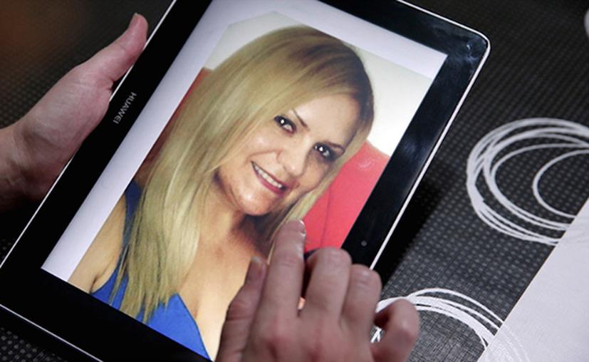 El 22 de julio, la Procuraduría de Tamaulipas publicó el retrato hablado de uno de los sujetos implicados en la desaparición de la mujer. (20 minutos)