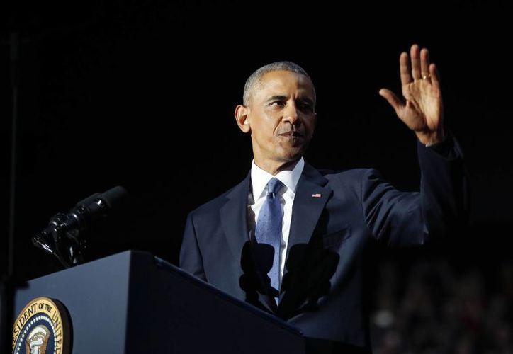 El presidente Obama dejará el cargo este 20 de enero. (AP/Pablo Martinez Monsivais)