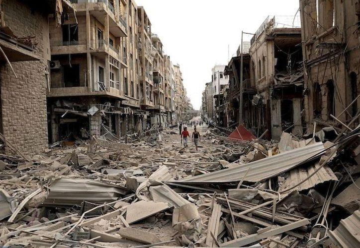 La situación humanitaria en Guta Oriental es dramática. (Ideas Socialistas)