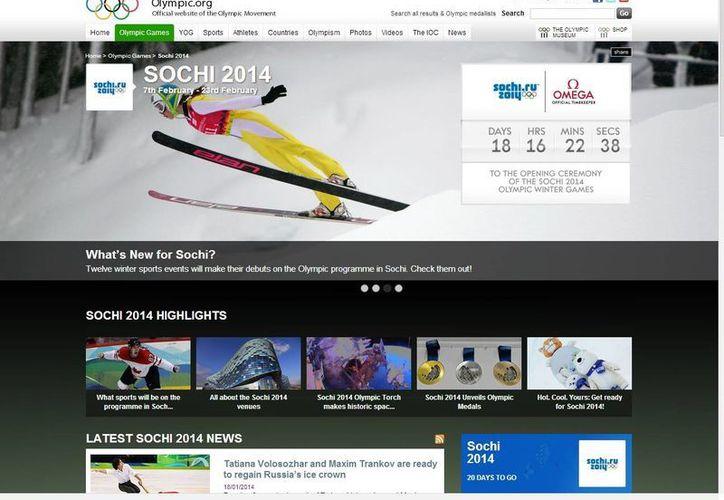 Faltan sólo 18 días para la inauguración de los Juegos Olímpicos de Invierno de Sochi. (olympic.org)