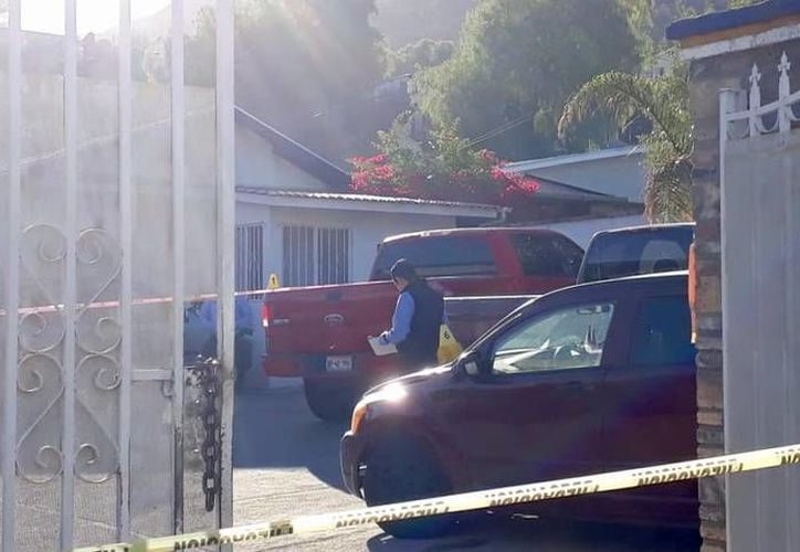 Los hechos fueron reportados a las 6:50 horas, en un domicilio de la colonia Militar, en Tecate, Baja California. (Internet)