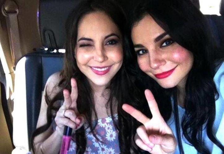 """Miri (i) y Martha Higareda trabajaran juntas en """"Tierras Rojas"""", cinta que comenzará a rodarse en marzo y en la que Martha será productora y hará un pequeño papel. (@marthahigareda)"""