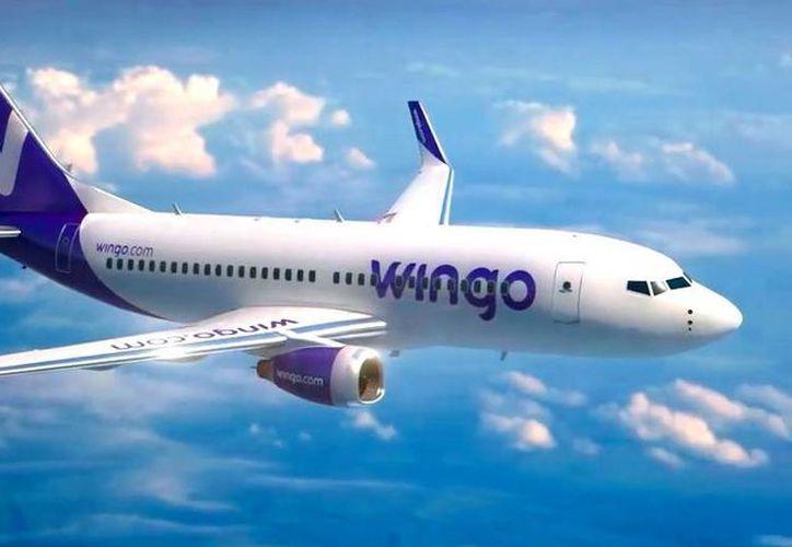 La aerolínea Wingo comenzará a operar, con vuelos entre Colombia y Cancún, a partir del próximo mes. (Cortesía)