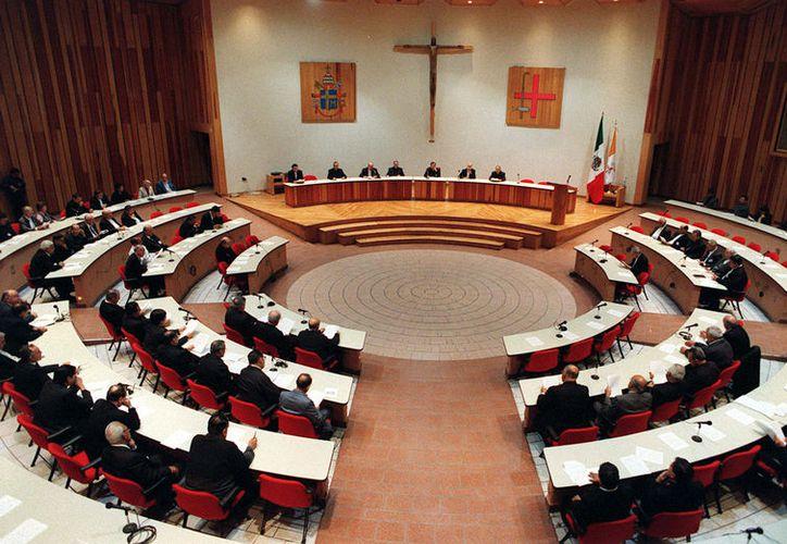 Reunión del Consejo del Episcopado Mexicano. (Foto: Proceso)