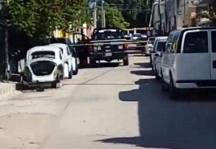 Autoridades encontraron varios casquillos en el lugar. (Eric Galindo/ SIPSE)