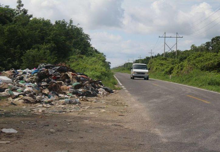 La ciudad de Felipe Carrillo Puerto genera diariamente alrededor de 40 toneladas de desechos. (Benjamin Pat/SIPSE)
