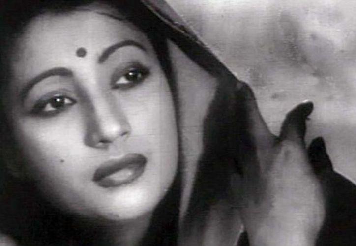La actriz india Suchitra Sen muere fue protagonista de 60 filmes en la India. (hindustantimes.com)