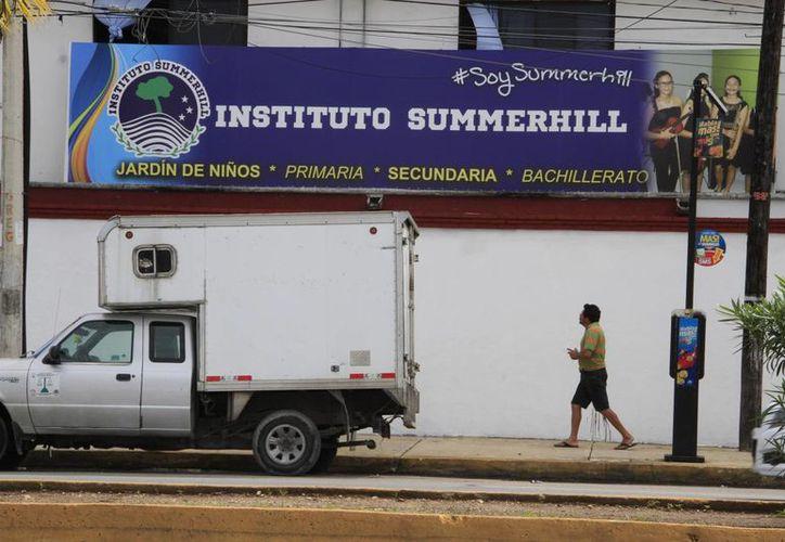 El Instituto Summerhill Cancún es una de las escuelas beneficiadas. (Tomás Álvarez/SIPSE)