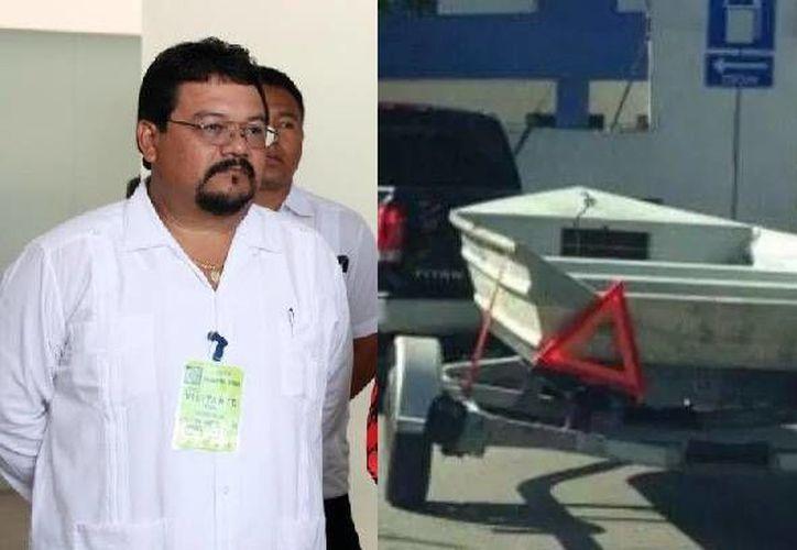 Juan Marrufo León no es más el director de la Policía Ministerial, pues fue despedido tras comprobarse que utilizó un vehículo oficial para remolcar una lancha suya a un taller. (SIPSE)