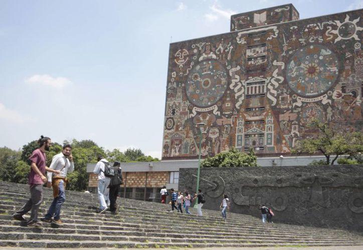 La Universidad Nacional Autónoma de México es considerada como una escuela de clase mundial. (Archivo SIPSE)
